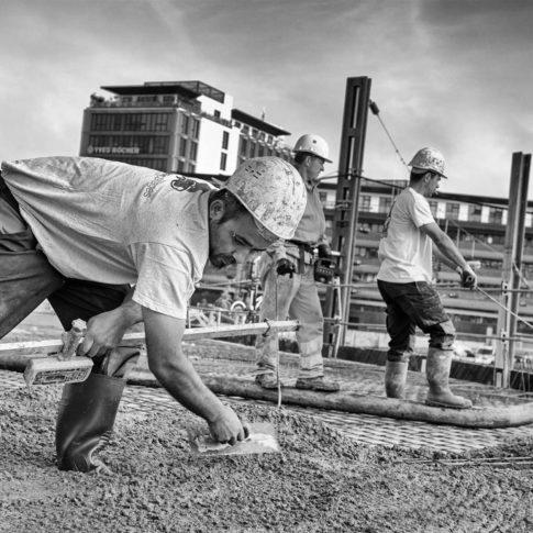 photographe reportage suivie de chantier gare rennes sud