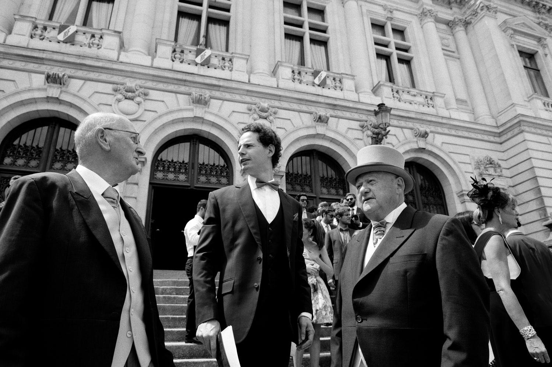 Photographe mariage sortie maire de Vannes