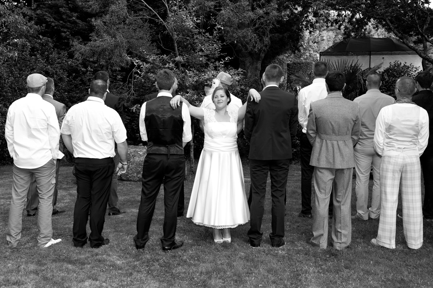 photographe Mariage photo de groupe Hennbont
