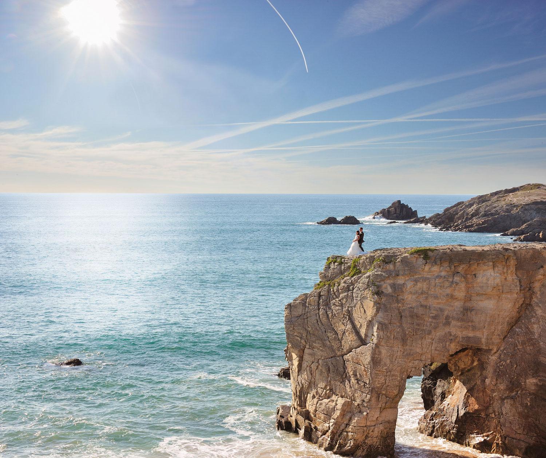 photographe mariage Quiberon anse grand paysage Philippe le pochat photographe