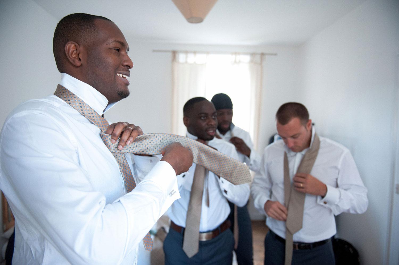 Photographe mariage préparatifs hommes Rennes