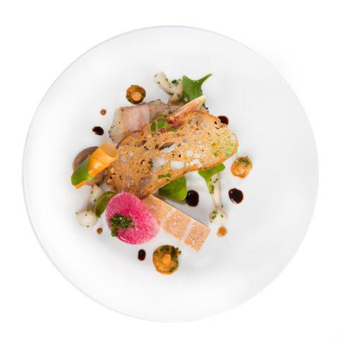 photographe culinaire restaurant château bretagne france