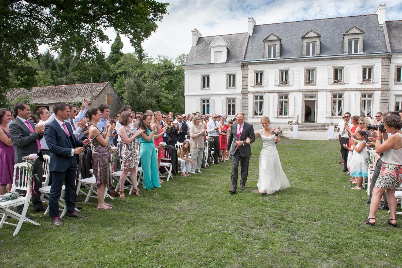 photographe mariage Cérémonie laïque Lorient
