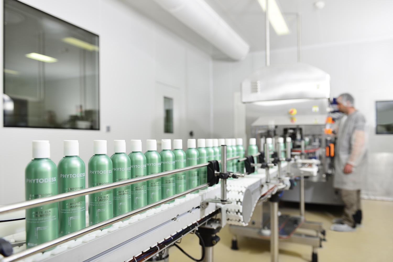 Reportage chaine de production produit cosmétique Bretagne