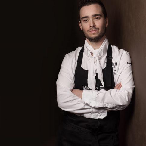 Photographe portrait chef étoilé bretagne