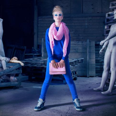 Photographe publicitaire Lorient mode mise en scène studio
