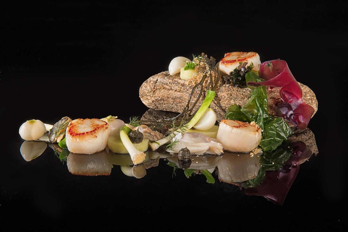 photographe gastronomique mise en scène et stylisme culinaire morbihan finistere bretagne france