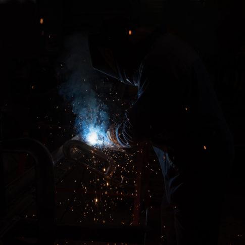 photographe reportage sidérurgie soudure morbihan lorient vannes quimper bretagne