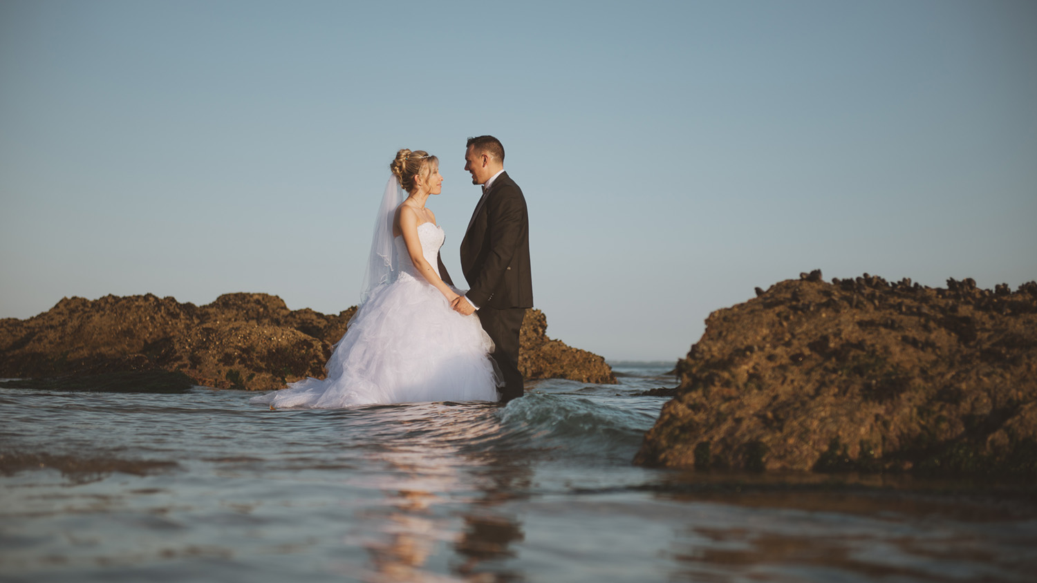Photographe trash the dress lorient