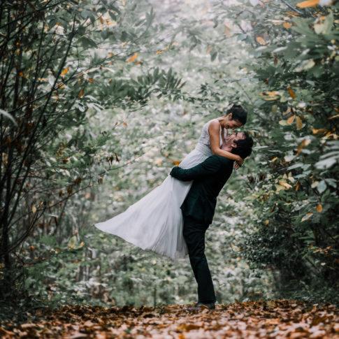 photographe mariage naturel bois morbihan
