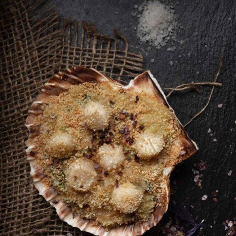 Meilleur photographe culinaire bretagne recette noix de saint Jacques