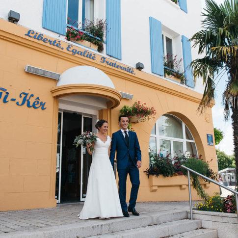 photographe mariage mairie de clohars