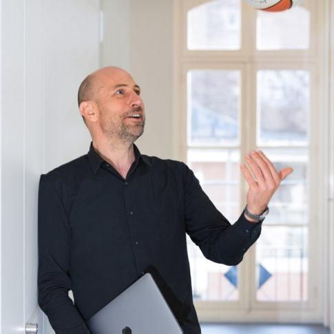 photographe portrait chef d'entreprise fun Quimper