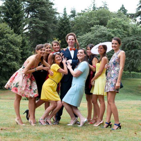 Photographe mariage vannes photo de groupe