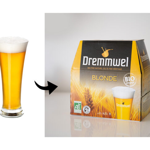 photographe packaging bière bretonne